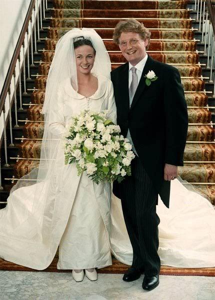 Prince Bernhard of Orange-Nassau, van Vollenhoven married Annette Sekrève on 8 July 2000