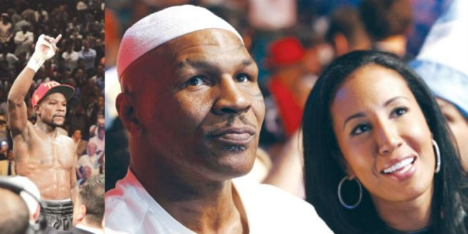 Penampilan Mike Tyson kini lebih Islami. Dia mengenakan peci putih dipadu dengan baju muslim putih yang terlihat lebih santai.   Berita Harian