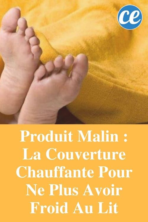 Produit Malin : La Couverture Chauffante Pour Ne Plus Avoir Froid Au Lit.