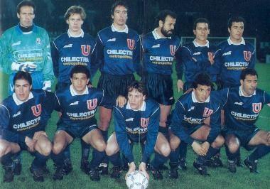 U de Chile formacion 1992