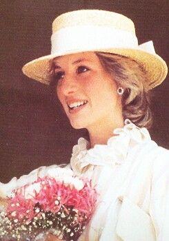 April 5, 1983: Princess Diana in Adelaide, Australia.