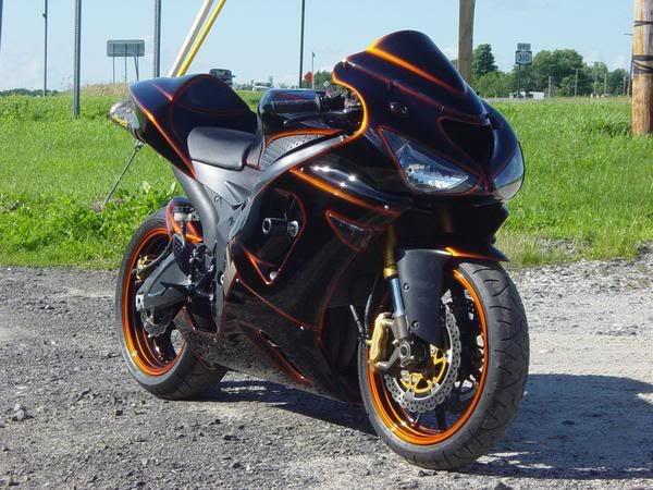 Kawasaki Zxr Custom