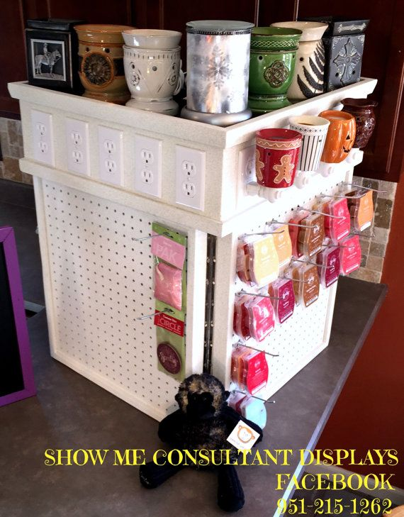 Scentsy Table Top Display By Scubasteve77 On Etsy