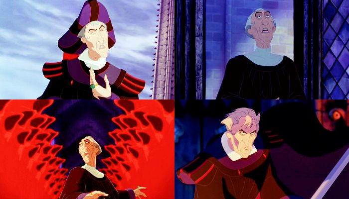 I think that by far, Frollo is the MOST twisted, evil Disney villain ever!! Tony Jay did an awesome job!!