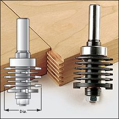 Finger-Joint Router Bit - Woodworking