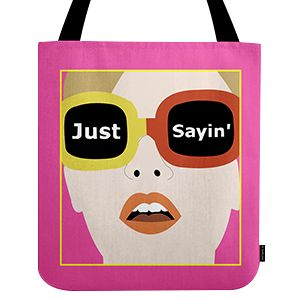 Design custom tote handbags with photo & text printed in India from UpTown18, Personalized tote bags with text, themes, pictures or choose templates that you like at very affordable Price.
