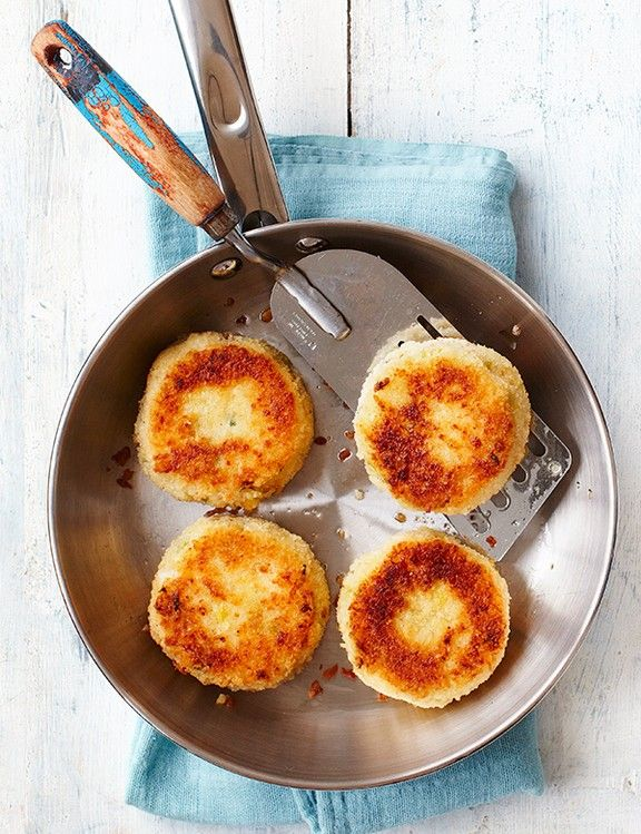 Smoked haddock and chive fishcakes These smoked haddock and chive fishcakes will be loved by the whole family and are a handy standby for when you're too busy to cook. Eat half now and freeze the rest.