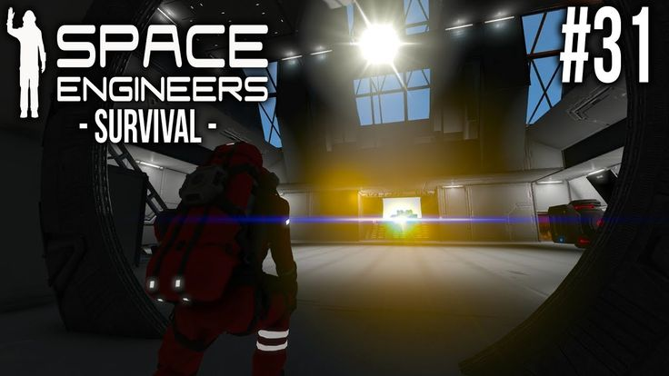Space Engineers - SURVIVAL - Ep 31 - Crashed ships and guns!