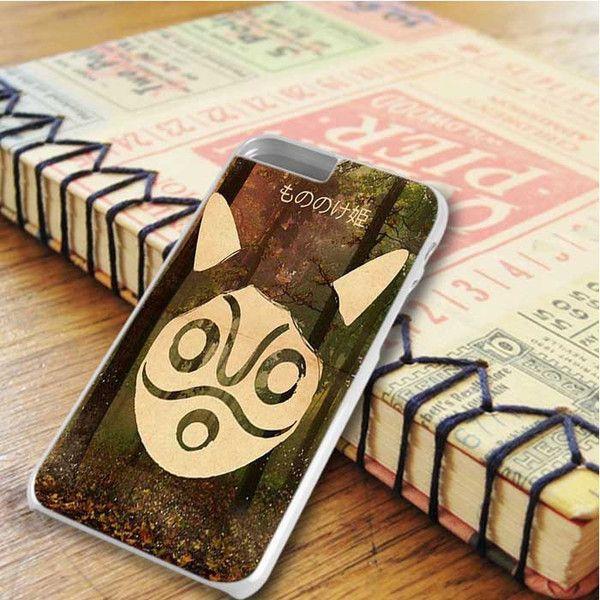 Ghibli Studio Princess Mononoke Mask iPhone 6 Plus|iPhone 6S Plus Case