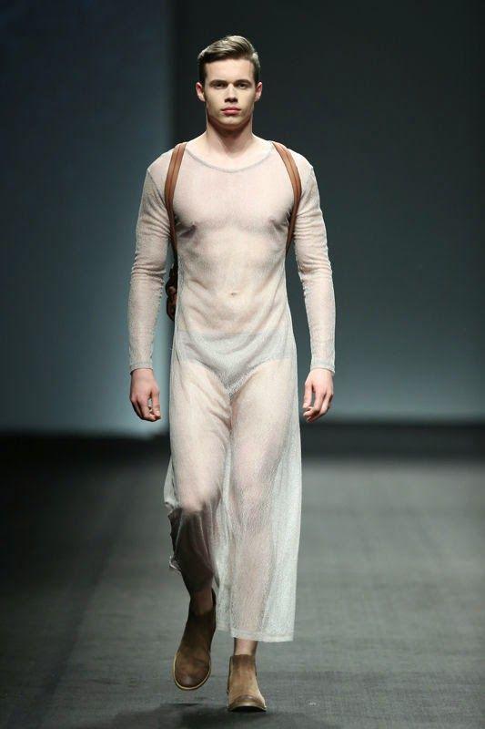 Mens nude fashion show 20