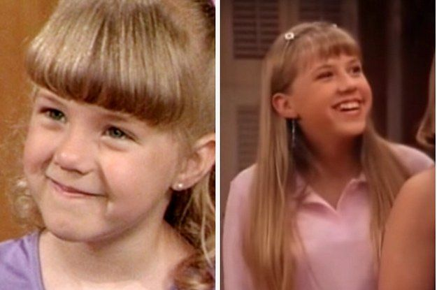 The Cast Of Full House In Their First Episode Last Episode And Now Full House Cast Full House It Cast