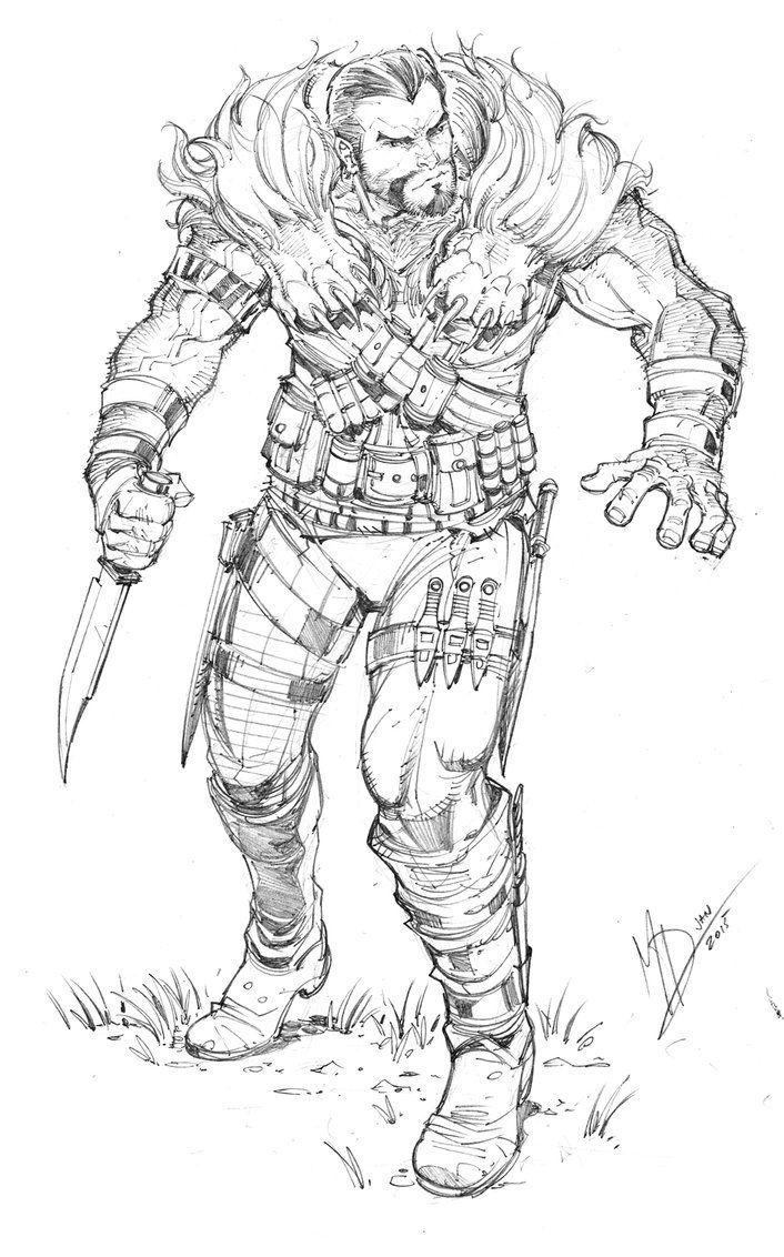 Kraven The Hunter by Max-Dunbar on DeviantArt