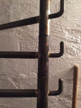 Cute Garderobe Garderobenstange Eisen lackiert ca m hoch in Hannover Mitte