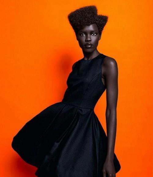 beautiful african model, Africa