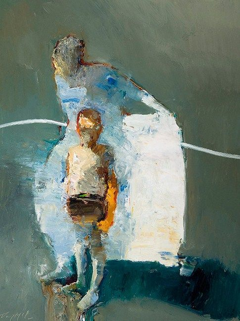 Danny McCaw. Connections, oil on canvas, 2011