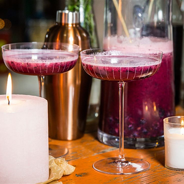 Try this Blueberry, Lavender and Lime Cocktail recipe by Chef Jasmine and Melissa Hemsley . This recipe is from the show Hemsley Hemsley - Healthy