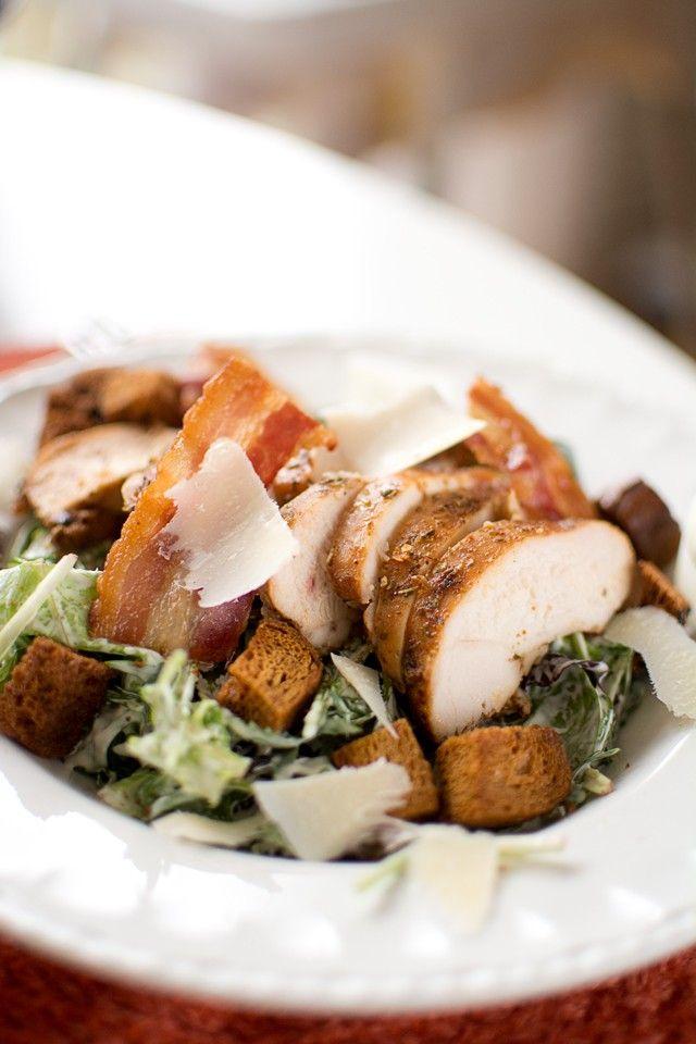 Recept på caesarsallad med kyckling och bacon | Middagstips & enkla recept på vardagsmat