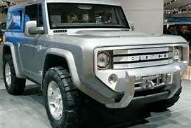 2015 Ford Bronco concept.  I will have this