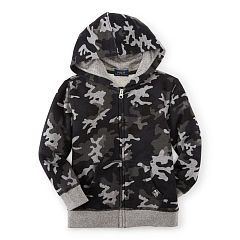Camo Cotton Full-Zip Hoodie - Boys 2-7 Tees & Sweatshirts - RalphLauren.com