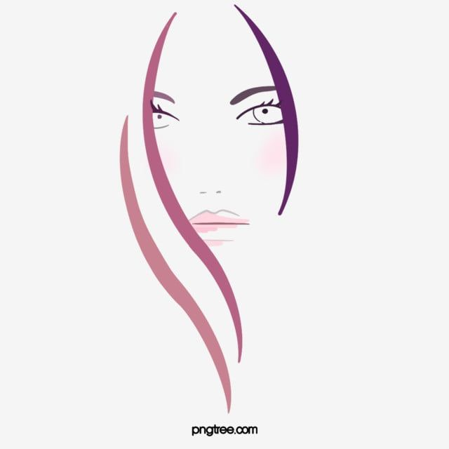 Cartoon Red Roll Long Hair Woman Side Face Illustration Red Curly Hair Long Hair Png Transparent Clipart Image And Psd File For Free Download Face Illustration Long Hair Girl Long Hair