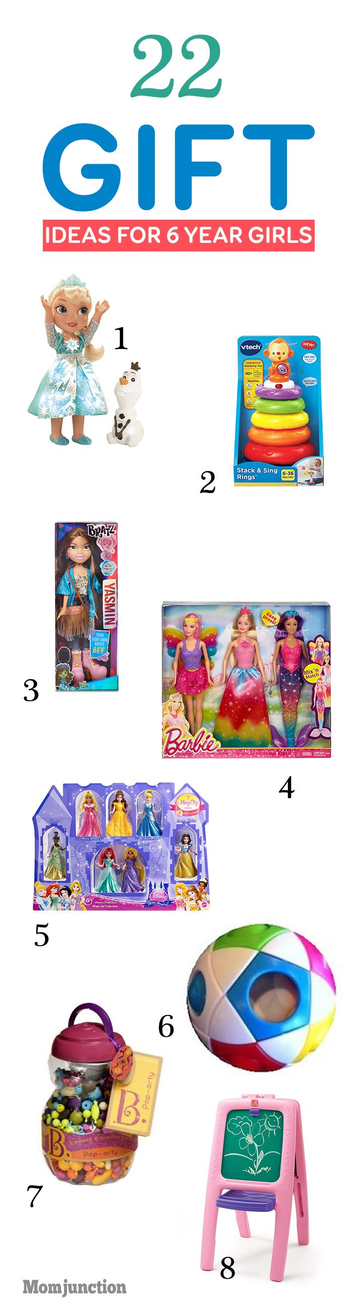 Best Christmas Gifts For 6 Yr Old Girl