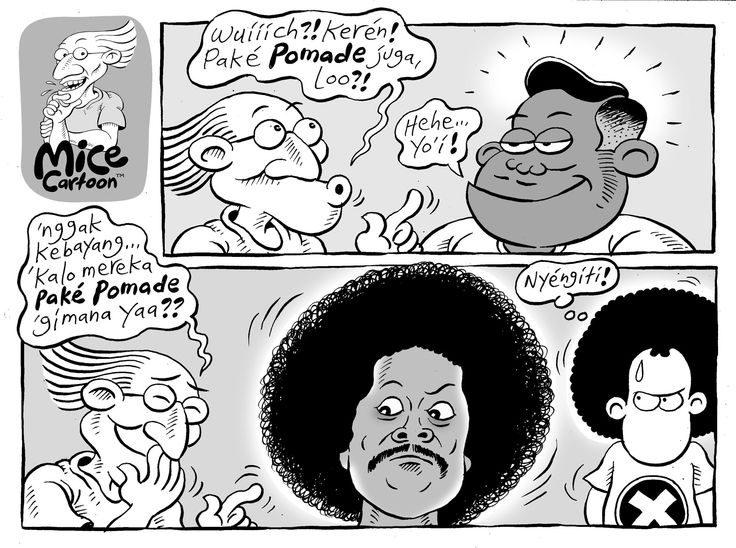 Mice Cartoon, Kompas - 11 Januari 2015: Pomade