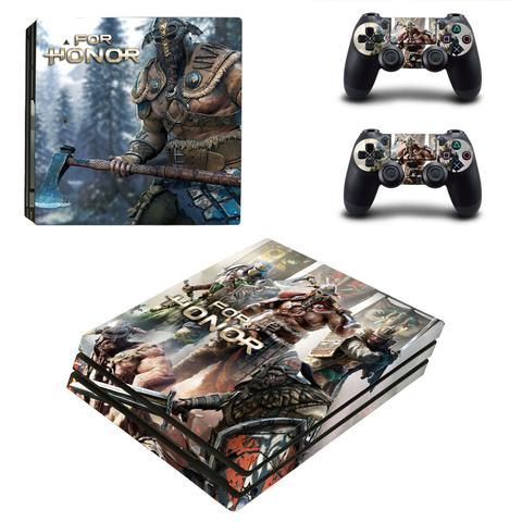 For honor ps4 pro edition skin decal for console and controllers