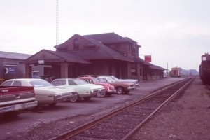 The Fredericton Train Station in 1978