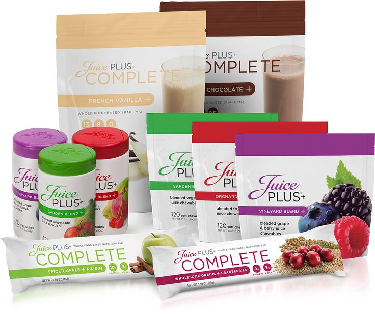 These Are All The Products From Juice Plus Except The Tower Garden. The  Shake Mix