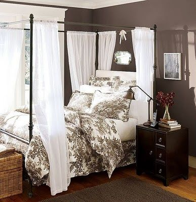 14 best images about bedroom paint ideas on pinterest Dark brown walls bedroom