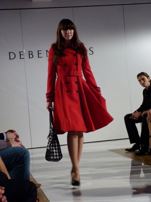 Model at the Debenhams Fashion Show in Munich - Sept 2012 - http://olschis-world.de/  #Debenhams #Womenswear #Fashion