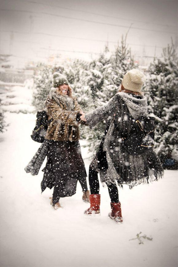 This photo is winter joy! Christa Melton