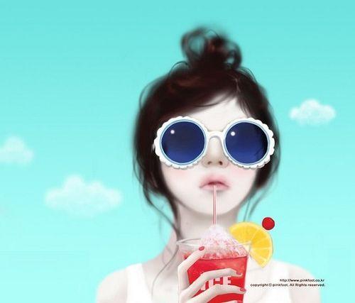 J Enakei Life as Art: Pretty Korean Cartoons | Enakei ...