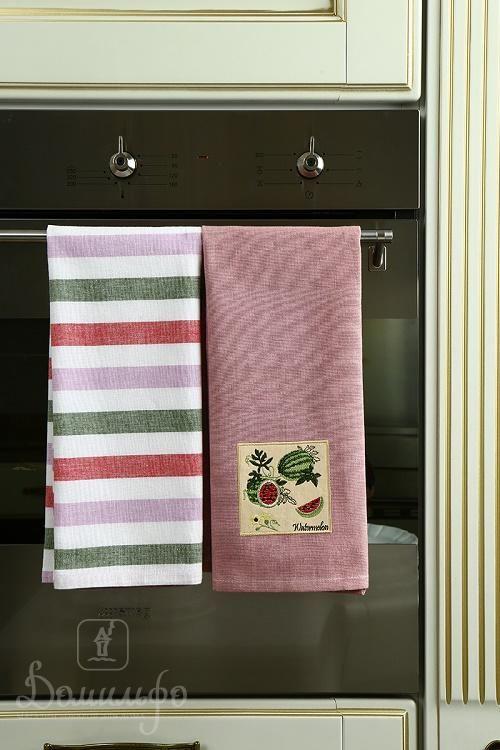 Набор полотенец АРБУЗ 45х70 (2шт) от Arloni (Индия) - купить по низкой цене в интернет магазине Домильфо
