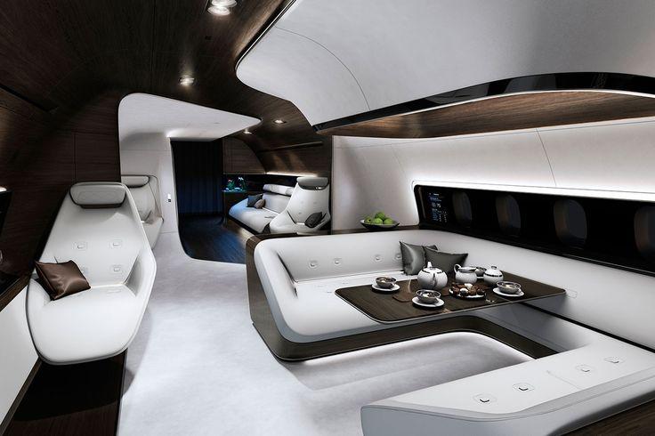 The plane #mercedes