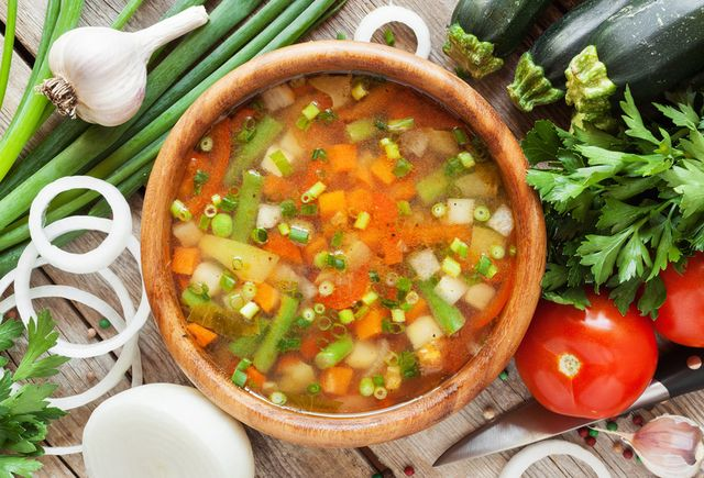 1週間で−8kg!脂肪燃焼スープダイエット |
