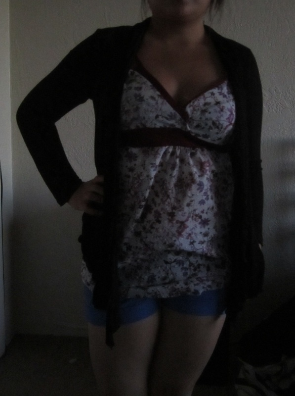 Floral, Baby Doll Camisole
