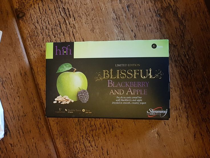 New Hifi bars coming to your group week beginning 9th of April. Suitable for vegetarians Apple and Blackberry drizzled with yogurt