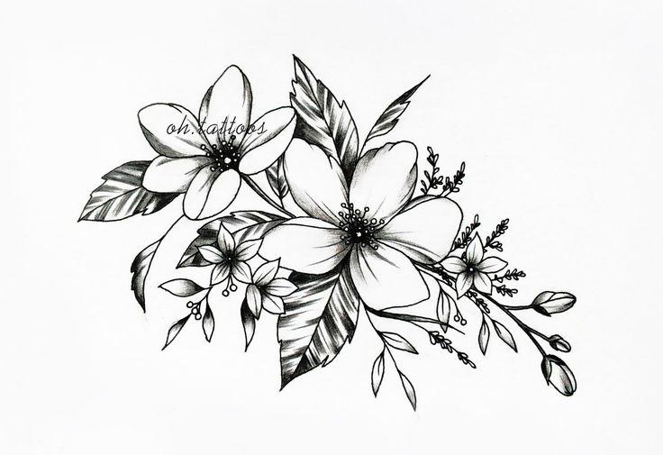 Flower mold   – Tattoo Ideen