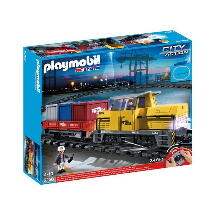 PLAYMOBIL® Train porte-conteneurs radio-commandé réf.5258-product