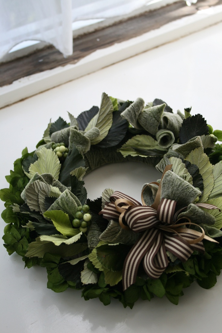 by bloomish  Winter Green Wreath