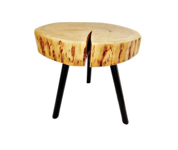 stolik kawowy z drewna - SkandiDekor - Stoliki, wooden table, tree stump
