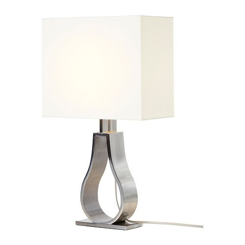KLABB Table lamp IKEA Shade made of textile; gives a diffused and decorative light. - Bedroom