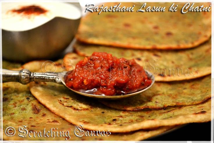 Recipe | Rajasthani Lahsun ki Chutney : Chilli Garlic Dip | Scratching Canvas