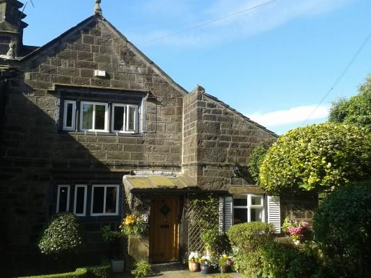 Pretty 400 year old cottage in lovely village. Old Town Hall Cottage, Hebden Bridge. www.iknow-yorkshire.co.uk