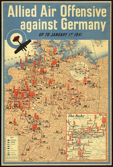 138 best maps images on pinterest maps cards and hiking british poster map of the allied aerial canvas print canvas art by everett ww2 gumiabroncs Images