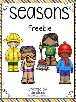 These activities are great to add in or to complete your unit on Seasons. My kids always love these writing activities to show off their knowledge of the different seasons.