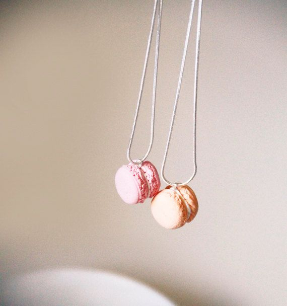 Sweet Tooth: Macaron BFF Necklaces