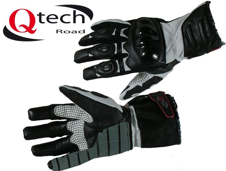 Motorcycle MOTORBIKE Gloves Leather & Textile ARMOURED Touring Armour | eBay