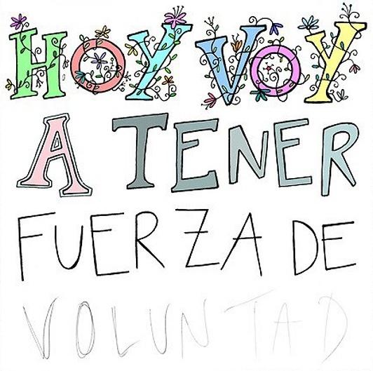 Fuerza de Voluntad ❥Teresa Restegui http://www.pinterest.com/teretegui/❥